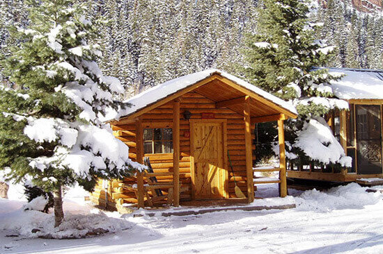 cabin in ouray riverside resort