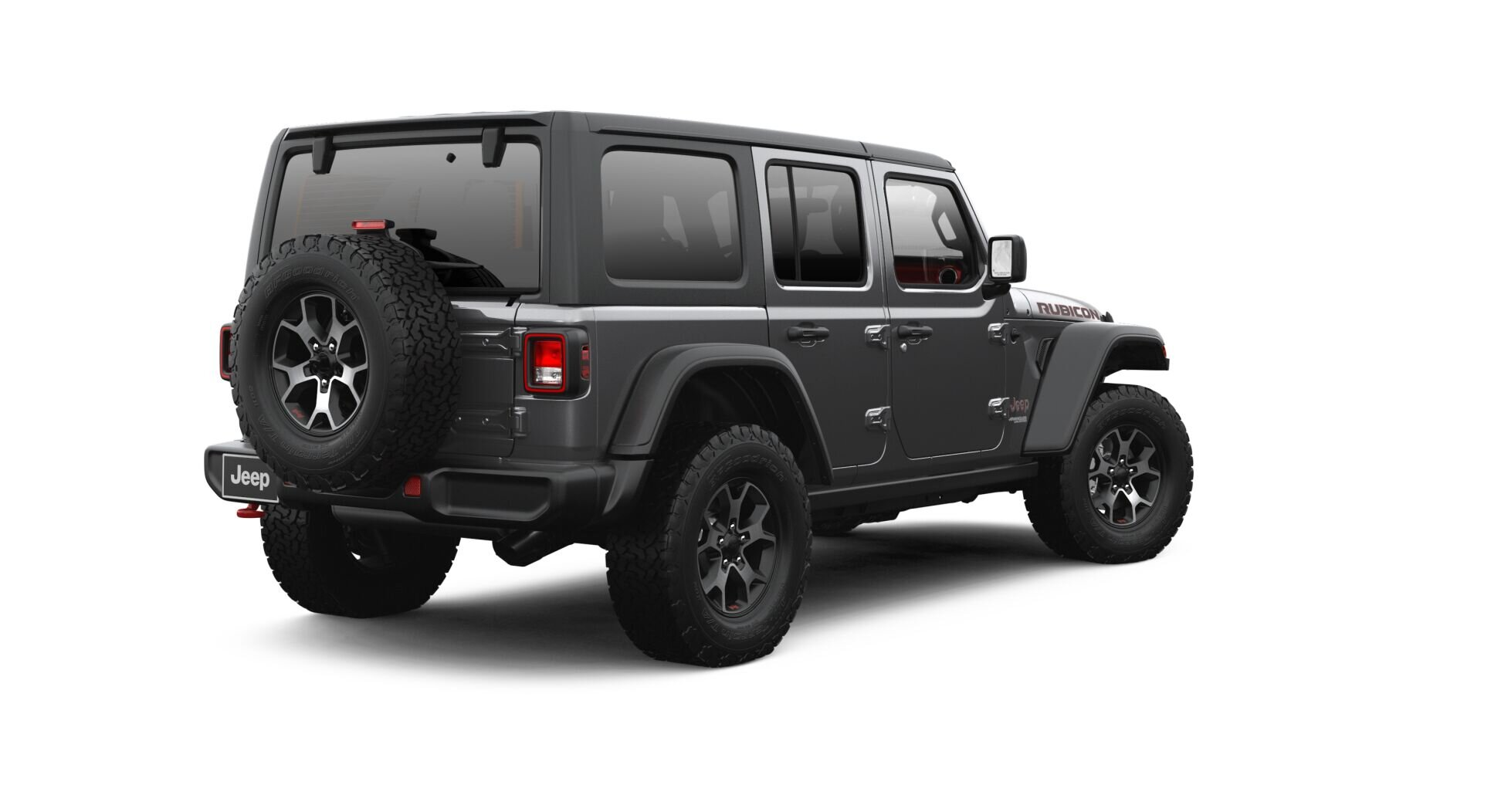 2021 Jeep Wrangler Rubicon Back View - Image Courtesy of Jeep Chrysler