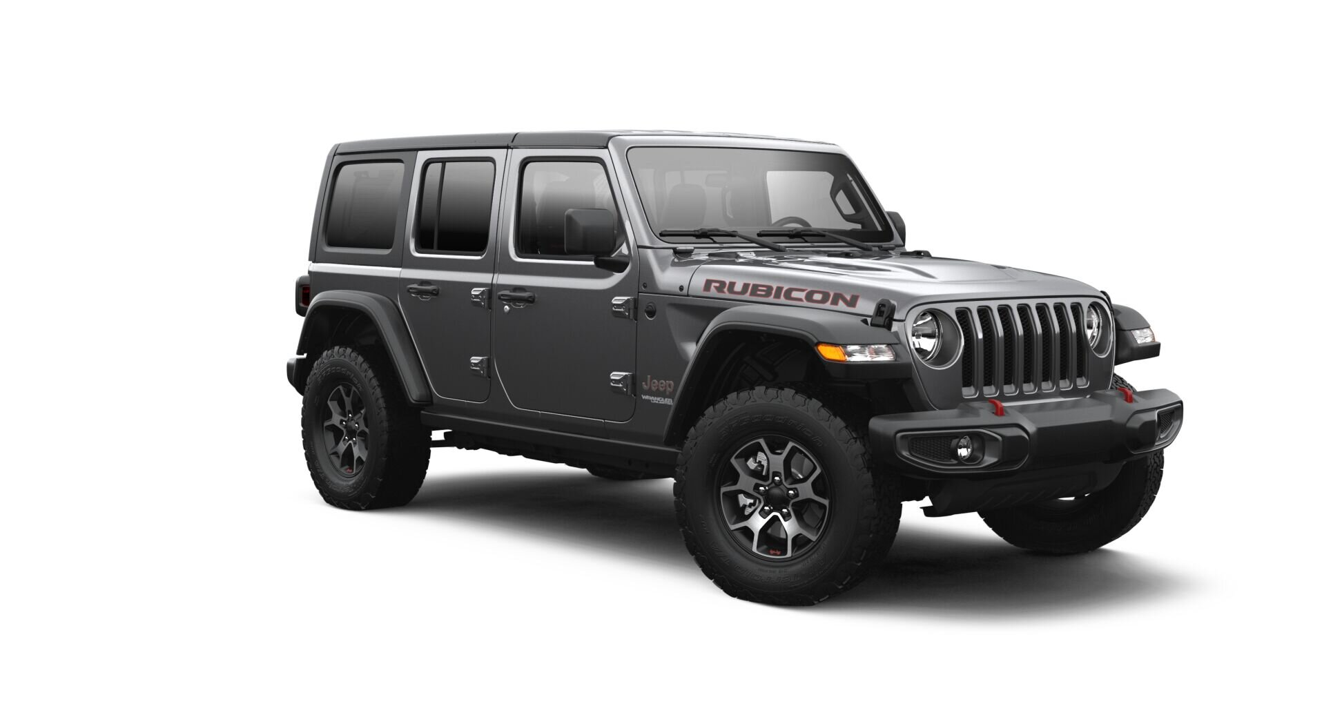 2021 Jeep Wrangler Rubicon Front View - Image Courtesy of Jeep Chrysler